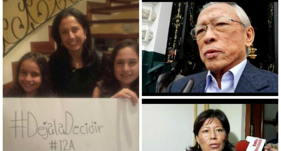 #DéjalaDecidir: Natalie Condori y Humberto Lay cuestionan fotografía de Nadine Heredia