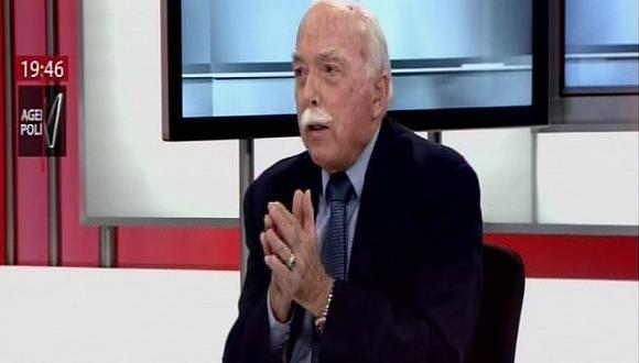 Carlos Tubino: Hay tres soluciones para el proyecto de adelanto de elecciones