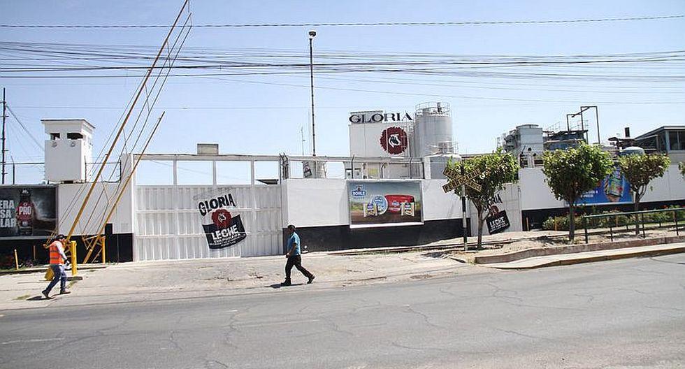 Reubicación de la planta de Gloria S.A  sin respuesta del Gobierno Regional de Arequipa