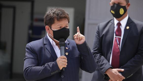 Guido Bellido expresó que será el Ministerio Público quien zanje el futuro del genocida Guzmán Reinoso. (Foto:  Britanie Arroyo / @photo.gec)