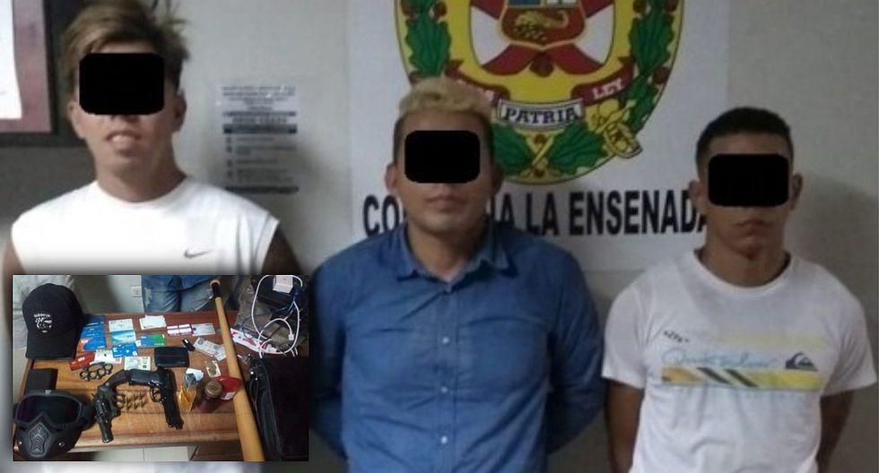 Policía desarticula banda integrada por venezolanos en Puente Piedra (FOTOS Y VIDEO)