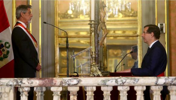 Jaime Gálvez Delgado es el ministro de Energía y Minas.