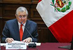 Cancillería agradece a EE.UU. por aceptar a Oswaldo de Rivero como nuevo embajador peruano en Washington