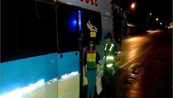 Intervienen a menor en bus víctima de trata de personas