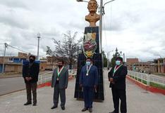 Azángaro: Recuerdan los 163 años del deceso de José Domingo Choquehuanca