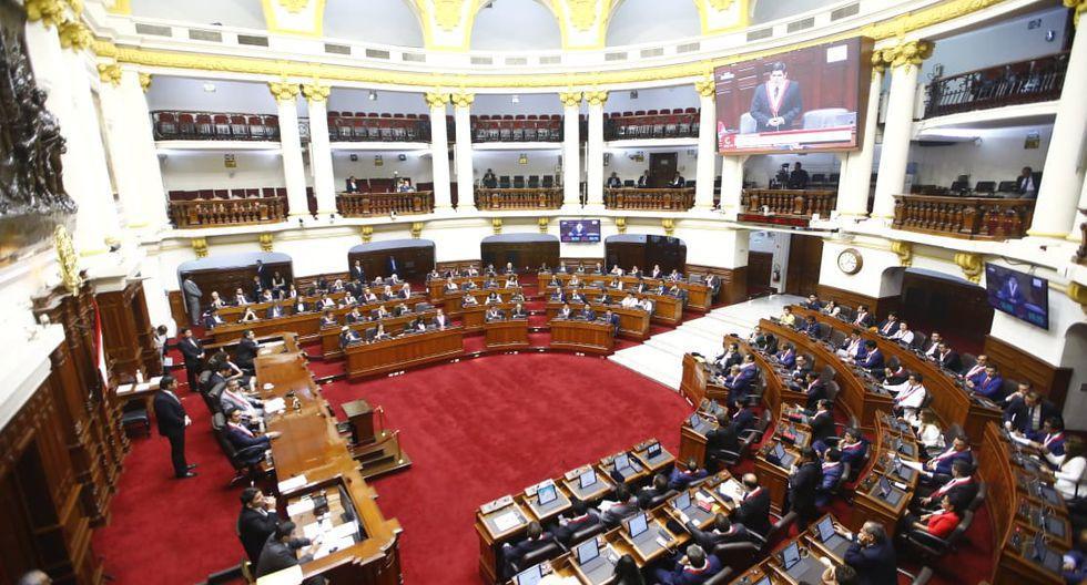 El pleno del Congreso aprobó el jueves 25 de junio las modificaciones a la paridad y alternancia. (Foto: Congreso de la República)
