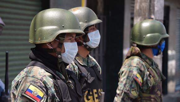 Hasta hoy el toque de queda en el país, salvo en Guayas, la provincia más afectada, es de las 19.00 a las 5.00 horas. Foto: AFP
