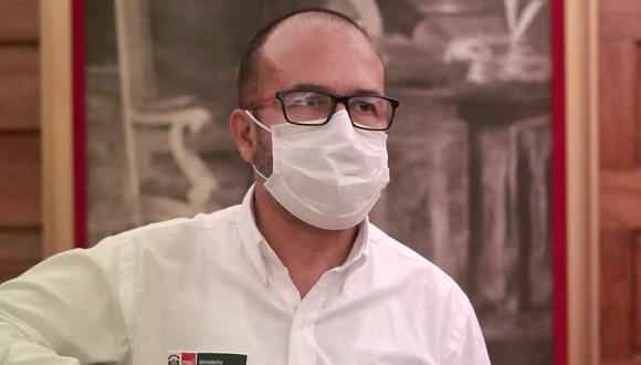 Ministro de Salud Víctor Zamora (Foto: Lino Chipana / GEC)