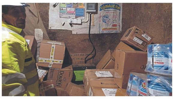La Policía, luego de tres días de intensa búsqueda, halló mercadería valorizada en más de medio millón de soles que fue robada.