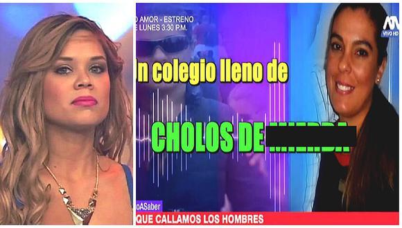 Andrea San Martín arremete contra mujer que menospreció el colegio José Quiñones (VIDEO)