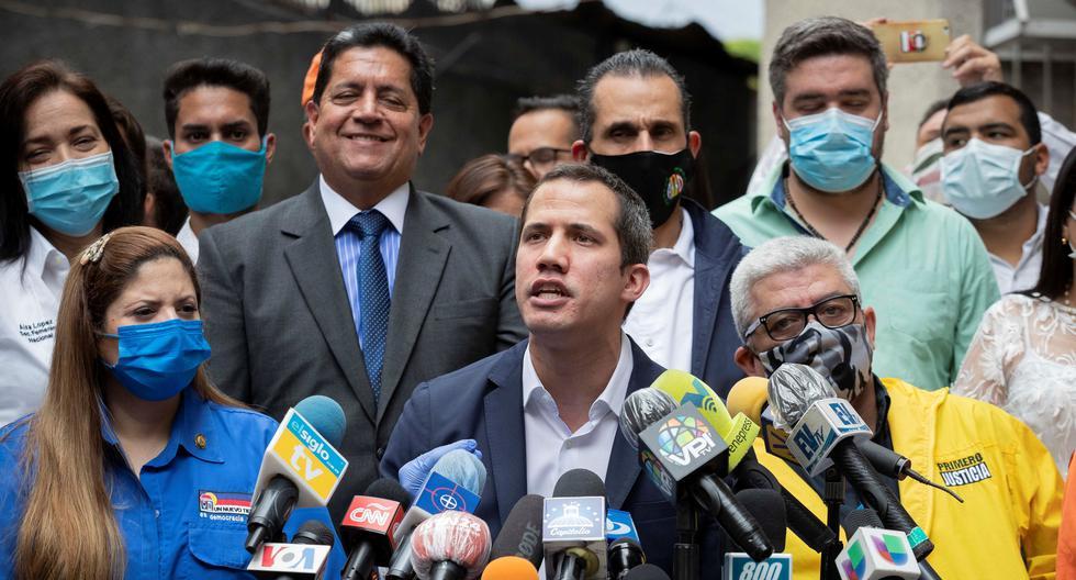 Juan Guaidó celebró este jueves la decisión que le otorga el control de las reservas de oro de Venezuela depositadas en el Banco de Inglaterra. (Foto: EFE/ Rayner Peña)