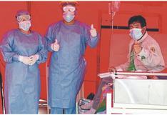 El 67% de infectados ya ha superado el COVID-19