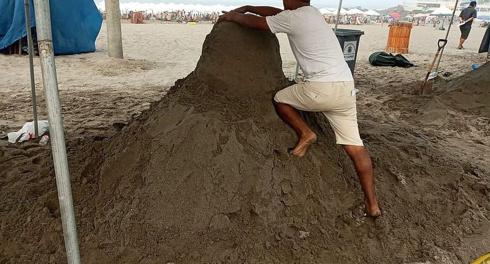 Transforman la arena en bellas esculturas (FOTOS)