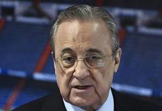 """Florentino Pérez: """"El fútbol pierde interés y baja la audencia, había que hacer algo"""""""