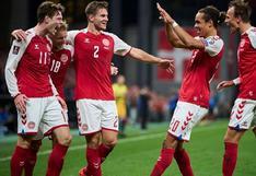 Selección de Dinamarca volvió a ganar y clasificó a la Copa del Mundo Qatar 2022