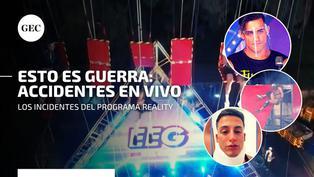 Esto es guerra: los participantes que sufrieron accidentes en vivo