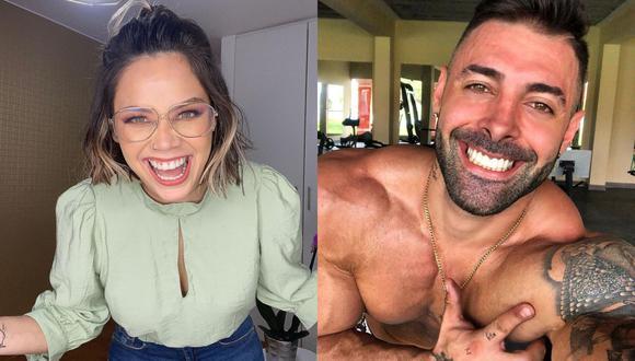 Como se sabe, la pareja retomó su relación tras 8 años de estar separados. Andrea San Martín y Sebastián Lizarzaburu se encuentran en Miami (Estados Unidos) disfrutando de vacaciones. (Foto: Composición/Instagram)