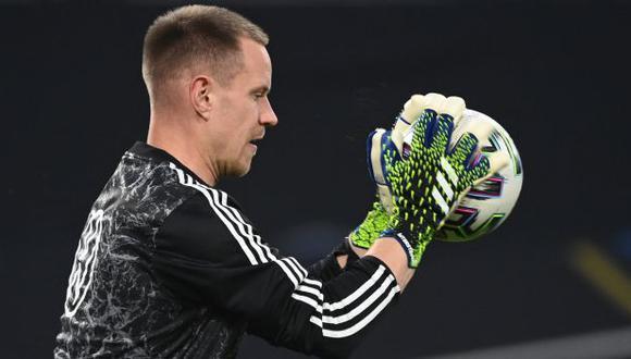 Ter Stegen no jugará la Eurocopa 2020 con la selección de Alemania. (Foto: AFP)