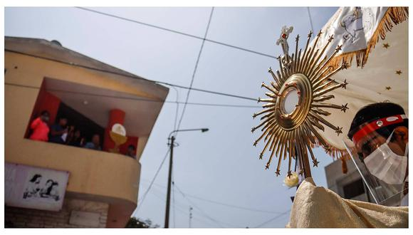 La Libertad: Corpus Christi bendice a cartavinos (FOTOS)