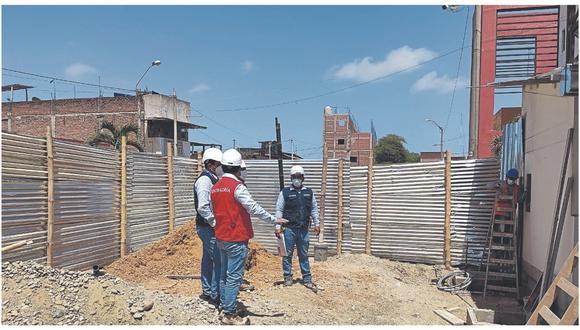 Auditores verifican las obras que se realizan en el colegio Julio Olivera Paredes, el mercado de Zarumilla y el instituto tecnológico Contralmirante Manuel Villar Olivera.