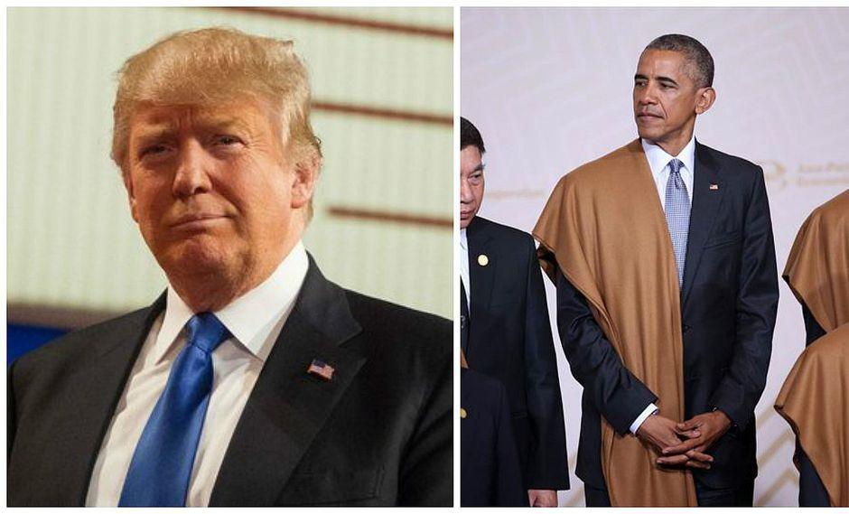 """Barack Obama: la """"realidad"""" forzará a Trump a modificar algunas de sus posturas"""