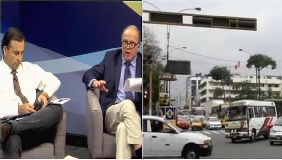 Tráfico de Lima impidió que experto en transportes de México llegue a una entrevista (VIDEO)