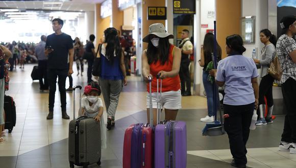 El Gobierno busca reactivar el turismo receptivo.