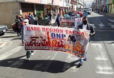 Ciudadanos exigen devolución de aportes a la ONP