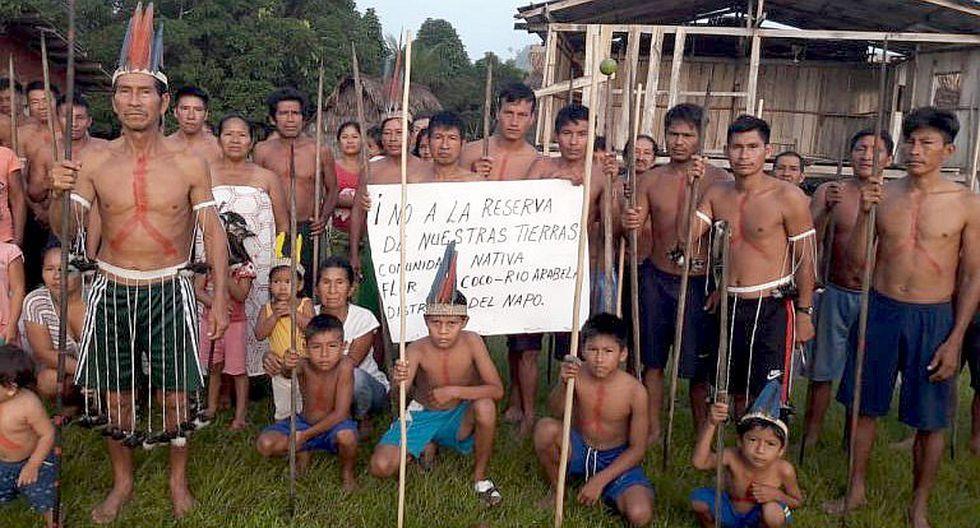 Comunidades nativas en alerta por pretendida declaratoria de intangibilidad absoluta de reservas