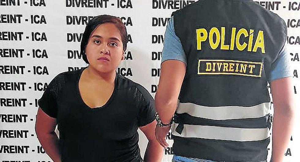 Detienen a sindicada de participar en robo a trabajadores del PJ
