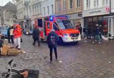 Dos personas mueren al ser arrolladas por un automóvil en el oeste de Alemania