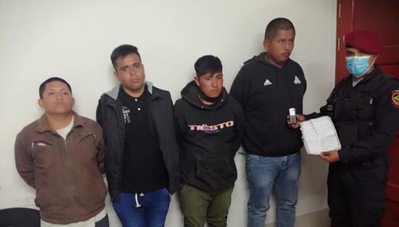 Maleantes le exigían S/10 mil soles a cambio de atentar contra la vidfa de sus seres queridos; pero afortunadamente la Policía acabó con sus fechorías.
