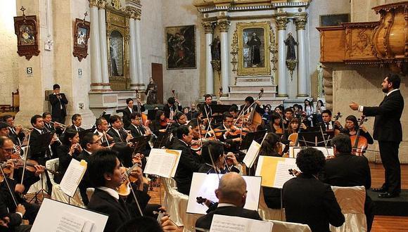 Solista  Christian Barros estará en concierto de la Orquesta Sinfónica de Arequipa