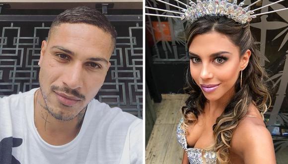Hace unos  días, Alexandra Méndez contó que se besó con Guerrero luego que este le mintiera sobre su estado con la modelo peruana.  (Foto: Instagram @guerrero9 / @alondragarciamiro).