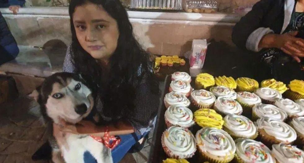 Joven vende cupcakes para pagarle el tratamiento médico a su perrito