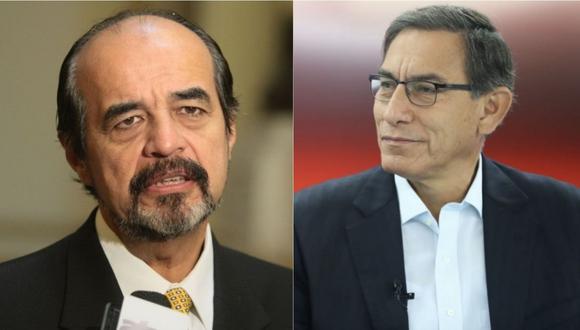 Mauricio Mulder tuvo fuertes palabras contra Martín Vizcarra. | Foto: GEC