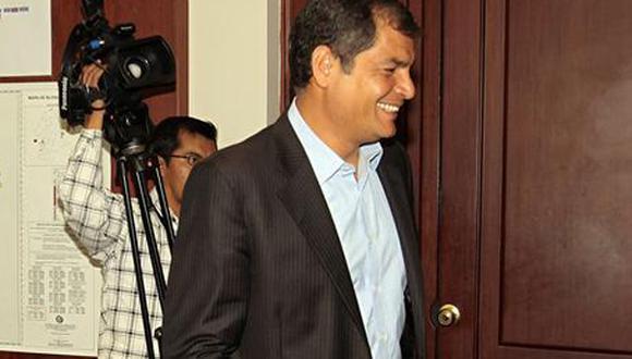 Rafael Correa analizaría eventual petición de asilo de familia de Bashar Al Assad