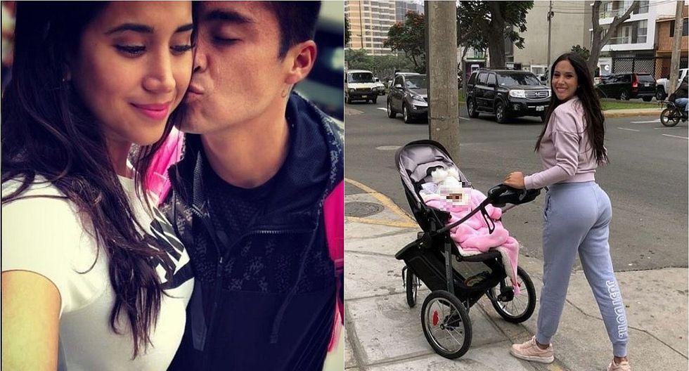 Melissa Paredes: esposo la defiende de críticas por lucir su figura a pocos meses de dar a luz (FOTOS)