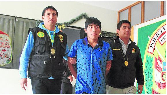 Huancayo: ranqueado delincuente cayó por tomarse selfies