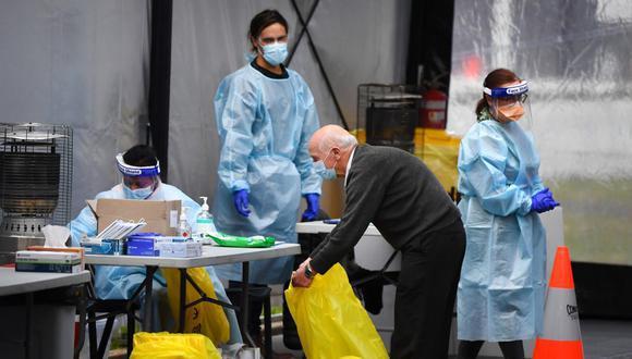 Perth busca afrontar de una forma rápida y estricta un caso de contagio para evitar su propagación. (Foto referencial: AFP)