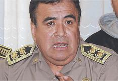 General PNP Óscar Gonzales Rabanal renuncia a la Dirección contra el Crimen Organizado de la Policía