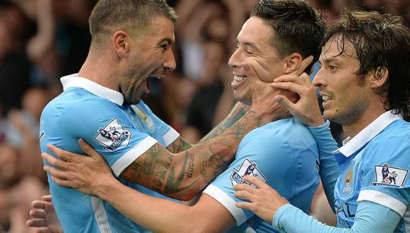 Premier League: Manchester City venció 2-0 al Everton