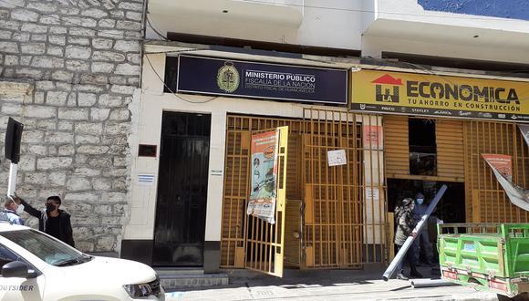 Ministerio Público de Huancavelica.