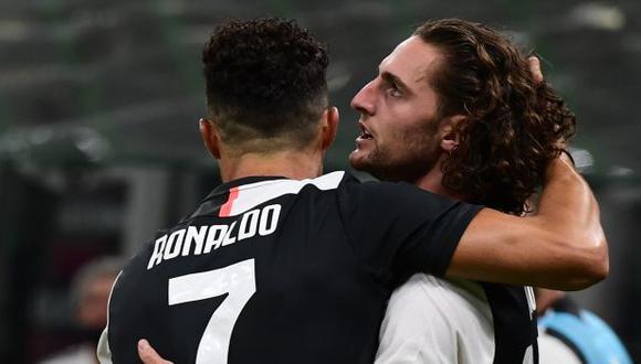 Adrien Rabiot marcó su primer gol con la camiseta del Juventus. (Foto: AFP)