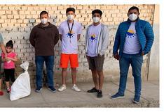 Jóvenes buscan salvar la playa de Buenos Aires