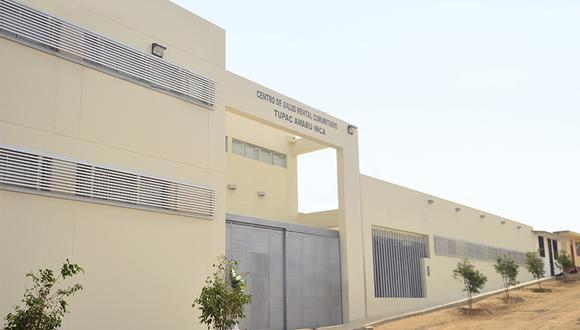 El centro de salud mental ha sido construido con fondos del Compromiso Marco de Camisea.