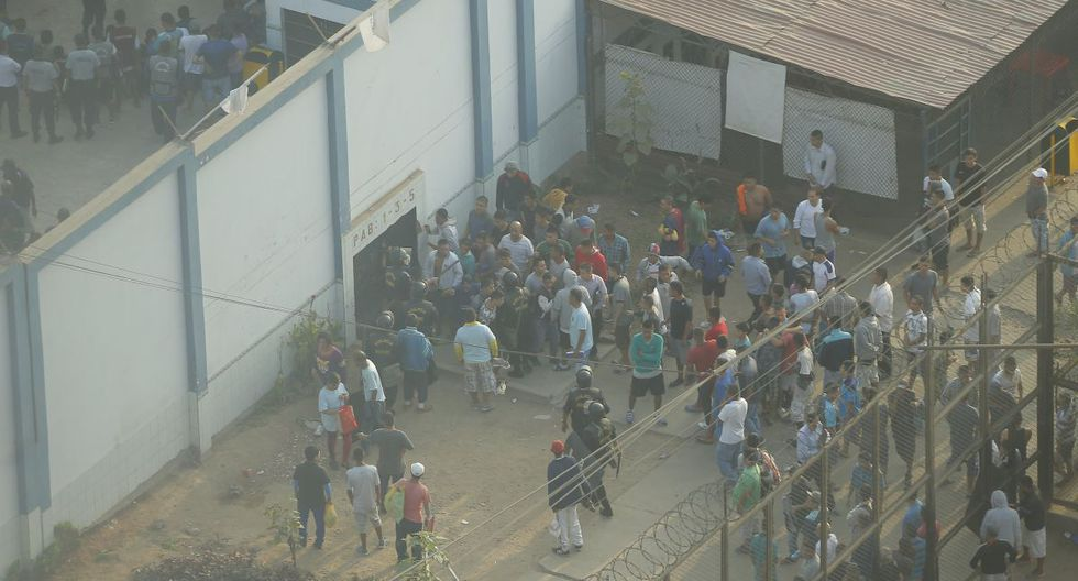 Los reos del penal de Yanamilla protestaron este lunes. (Imagen referencial/Archivo GEC)