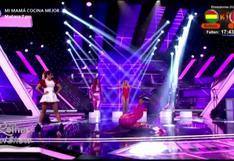 Diana Sánchez y su abrupta caída mientras interpretaba a Queca en 'Reinas del Show' (VIDEO)