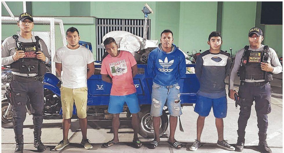 """Capturan a banda """"Los Mogosos de Yapatera"""" por robo en almacén"""