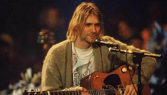 """La guitarra que usó Kurt Cobain, líder de Nirvana, en """"MTV Unplugged"""" fue vendida por US$6 millones. (Foto: Instagram)"""